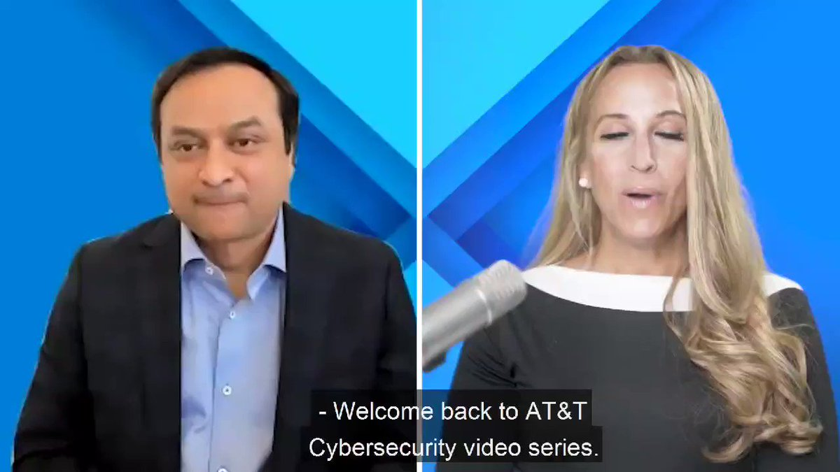 🔹AT&T #Cybersecurity Series🔹 Episode #15 With @RupeshChokshi, VP @attcyber about Cybersecurity as a business enabler 🛑FULL episode here👇👇 https://t.co/uUt6hVrU49 🛑🛑👇👇 https://t.co/6v7B62uETx #5G #attinfluencer @MoKatibeh @saritasayso @sstoesser @ATTBusiness @TheAnneChow https://t.co/m0DXByLVDE