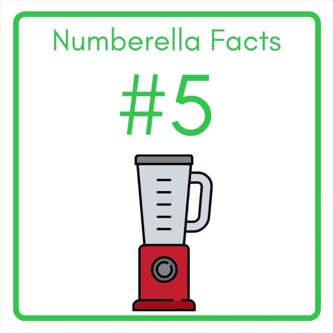 #Numberella facts 5.    💡  #blendedlearning #edutwitter #facts #gifted #growth #homeschooling2021 #mondaythoughts #mondaymorning #STEM #teaching #tuesdayfeeling #tuesdaymotivations #tuesdayvibe @blowtheblues   >>>