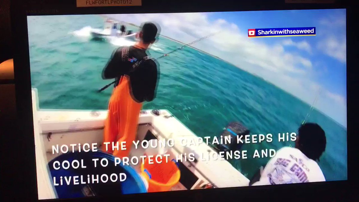 At 11 on @CBSMiami   Shocking video showing racial slurs and vulgarity being shouted at fishermen up near Stuart. Also circling their boat & making threats.   We speak w/ the man who recorded the whole thing. He explains why he wanted to bring awareness   (language omitted)