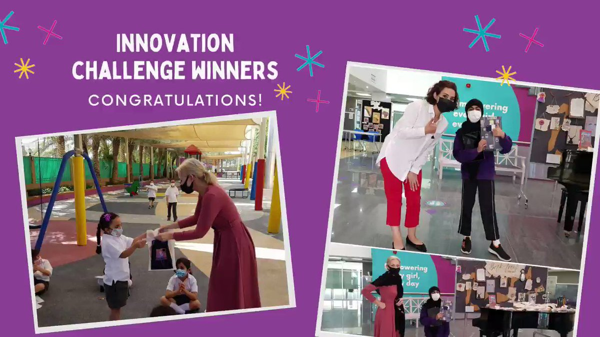 Congratulations to our Innovation Monthly Challenge#1 winners! The girls managed to design a creature that lives inside of an active Volcano!!   #innovationchallenge #winners #takethechallenge #unlockyourgift #empoweringeverygirleveryday #khda @Taaleem