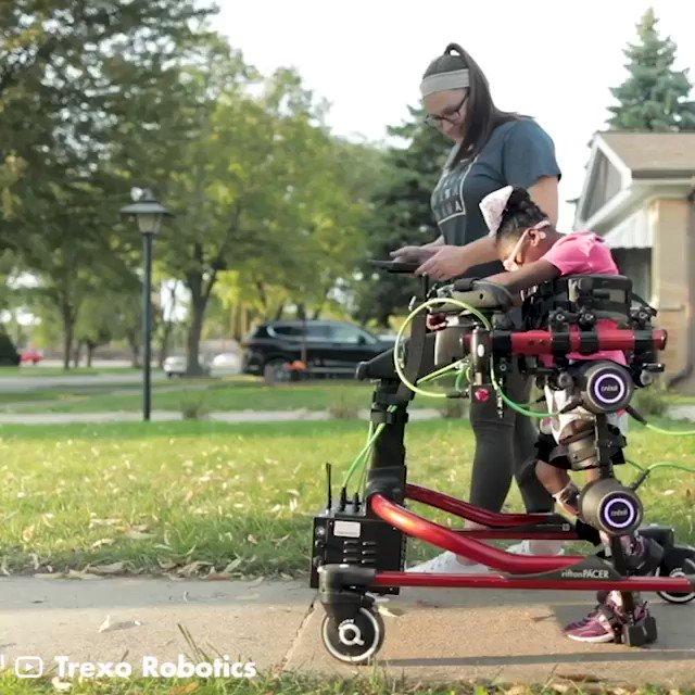 [#Innovation] This #robotic device helps children with disabilities to stand up and walk again via @gigadgets_   #AI #Engineering  @labordeolivier @kalydeoo @FrRonconi @pascal_bornet @ShiCooks @haroldsinnott @Damien_CABADI @diioannid @Fabriziobustama @GlenGilmore @enricomolinari https://t.co/opRPAvEjaZ