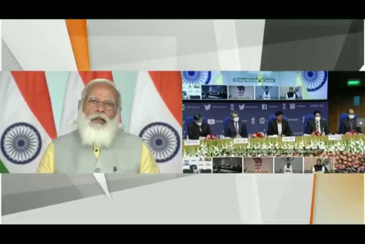This summit brings together several stakeholders related to this sector. Together, we will achieve great success in boosting the maritime economy. India is a natural leader in this sector. - Honourable PM Shri @narendramodi ji  #MaritimeIndiaSummit
