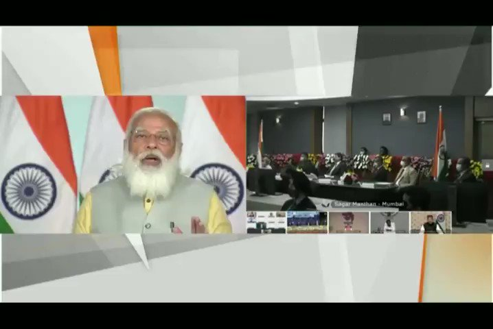 Domestic waterways are found to be cost-effective and environment-friendly way of transporting freight. We aim to operationalize 23 waterways by 2030. - Honourable PM Shri @narendramodi ji  #MaritimeIndiaSummit
