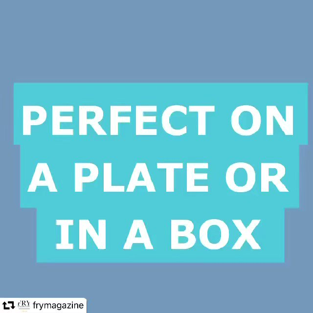PERFECT ON A PLATE OR IN A BOX!  Click for more information >>    #seafish #loveseafood #fishandchips #marketing #sharingiscaring #fridayfeeling #frymagzine #perfectdish  @loveseafooduk