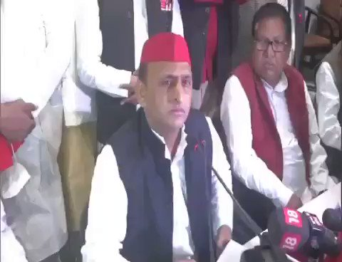 #लाल_टोपी_वाला_गुंडा  Reporter reminds Akhilesh Yadav of the fact that The accuse #Gaurav is from his party and the case was registered against him 2018.  Result, Akhilesh gets angry Nd Say - tum bike hue channel Ho Godi media Ho...
