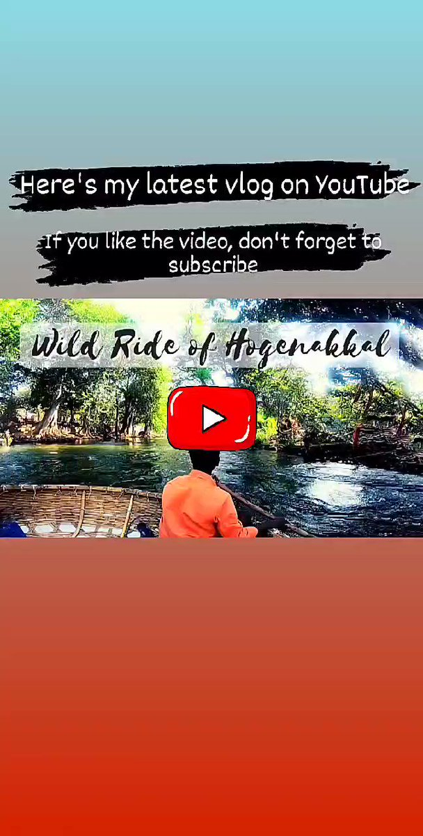 Have you ever seen a😲 floating shop ever.🔥🔥🔥 Unique Boating Experience. 🚣  * MUST WATCH *  #blogger #blogging #travl #trip #nature #fun #ExploreIndia #bangalore #hoganekkal #waterfalls