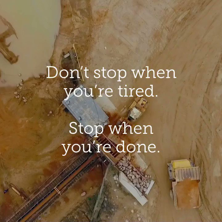 Believe in Working Hard for Your Dreams & Have a Great Tuesday! - - #positivity #Motivation #garyvee #Tuesday #aggregate #MadeInUSA #mining #mininglife #quarry #quarrylife #maxwear #samscreen