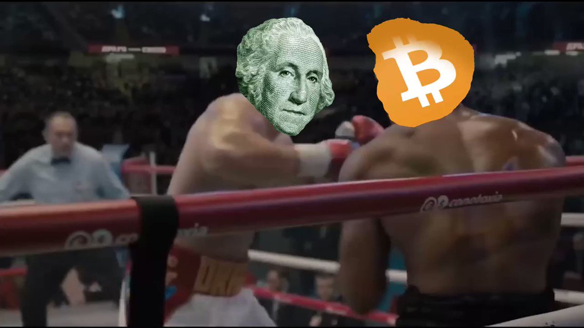 David vs. Goliath #Bitcoin