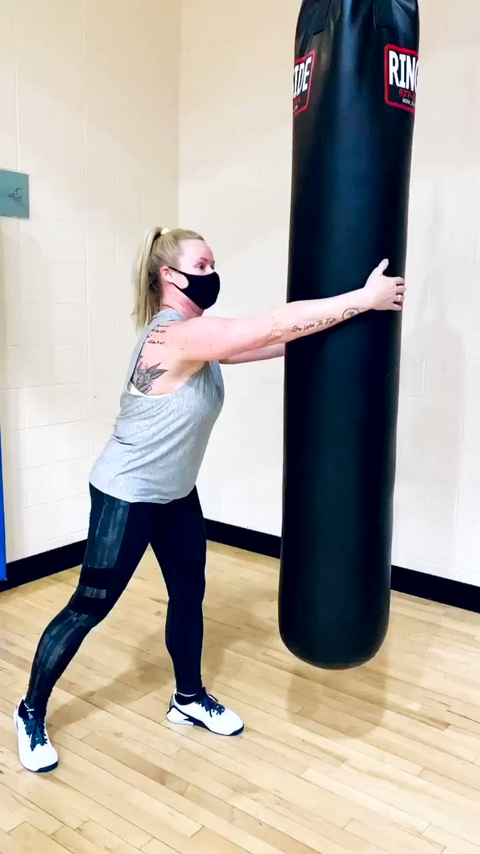 #tuesdayvibe We don't want to mess with this lady!😬 #tuesdaymotivations #strongwomen #knockout