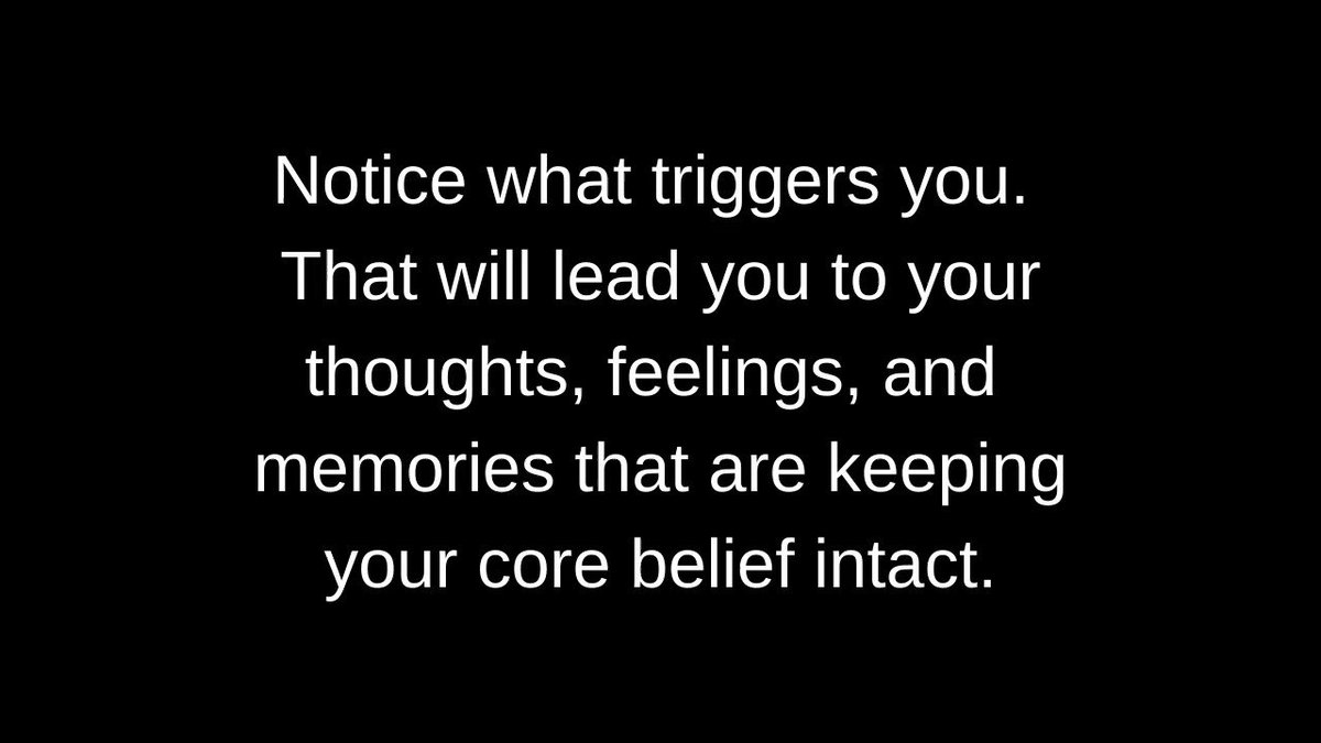 What triggers you, leads you to your core belief that is creating your suffering. Learn to let it go. #tuesdayvibe #tuesdaymotivations #TuesdayFeeling #TuesdayMorningVibes #quote #gobeyond #free