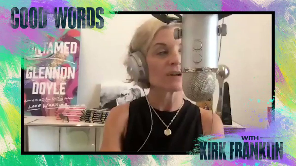 .@kirkfranklin is joined by @glennondoyle to share some good words on recovery, sensitivity and moments that change lives. Listen to anew episode of Good Words with Kirk Franklin wherever you get your podcasts: