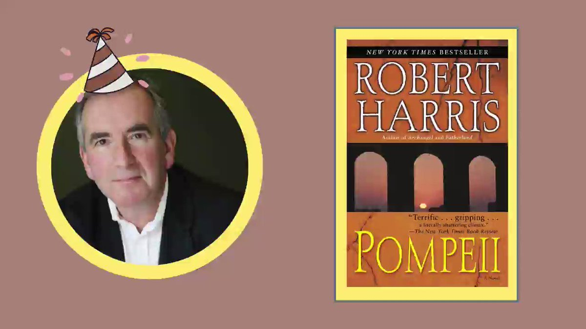 Happy birthday, Robert Harris! 🎉 Although Harris began his career in non-fiction, his fame now rests upon his works of historical fiction. #ClearwaterLibrary #SundayThoughts