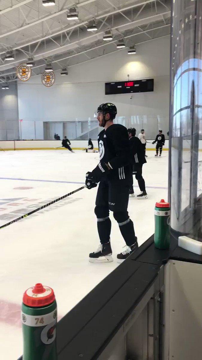 Jarred Tinordi: No. 84 in your programs. #NHLBruins