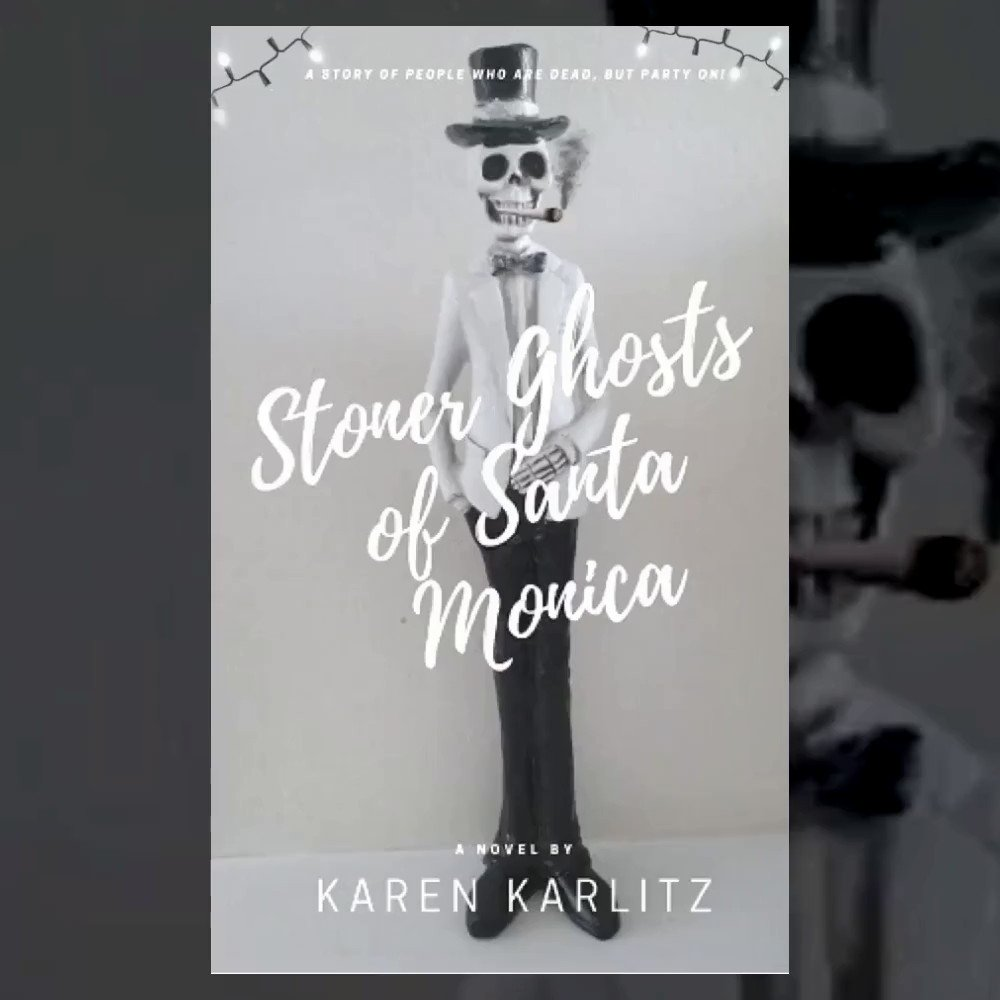 """Hi Caylah. I'm 👠following you! I'm the author of """"Stoner Ghosts of Santa Monica""""  😇Dead potheads inhabit SM apartment building & stay lit😇#writerslift #writers #KindleUnlimited  #oursantamonica #f4f #fantasy #amwriting #humor"""