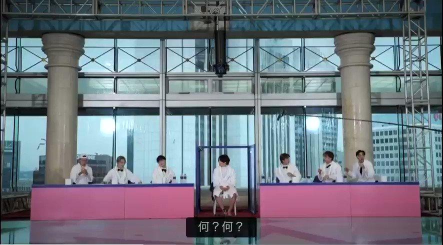 今日のタリョラ  水爆弾💣容赦ない😂  아〜 정극아〜  #bts #달려라방탄