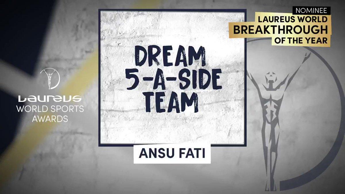 🤩 Who makes @ANSUFATIs dream 5-a-side team? ❓ @Carles5puyol ❓ Lionel Messi ❓ 🎥 Film credit: @FCBarcelona