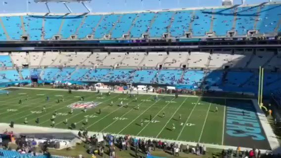 This. Was . Awesome 'Get Out' at the @Panthers . Have you heard it yet on our @Spotify ? Footage @VinnySplit #skyfever #fevernation #nfl #panthers #rearviewmirror https://t.co/gIFHW9Xv74