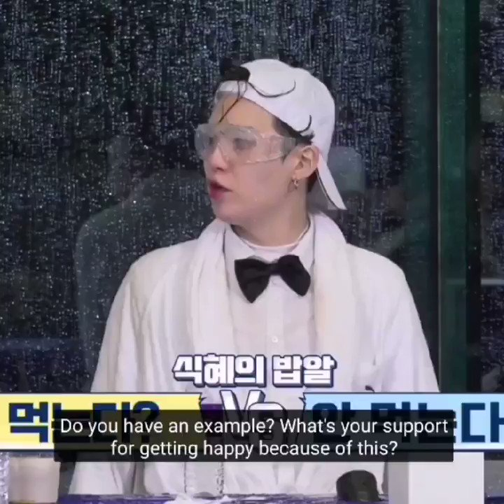 not only i would question my happiness, i would also need an example to prove it now 😂  #runbtsep131 #RUNBTS
