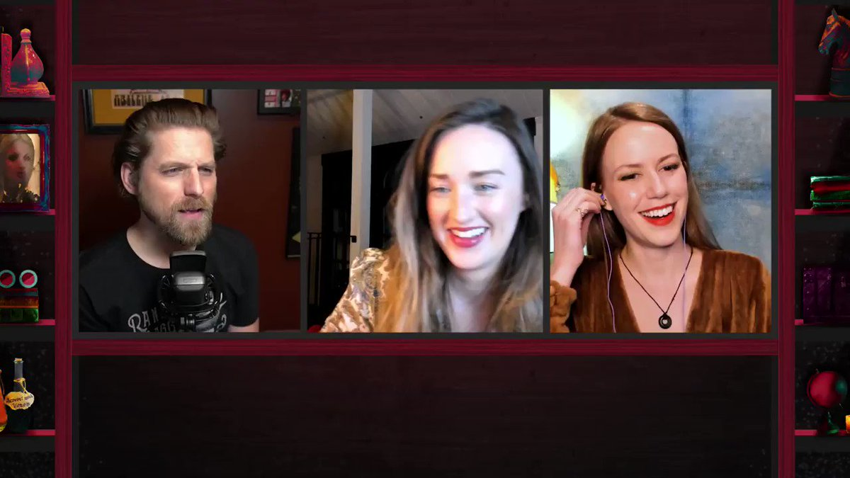 Get hyped for tonight's episode of Talks Machina as our very smooth @BrianWFoster and Lore Keeper @ItsDaniCarr chat with @TheVulcanSalute and @Marisha_Ray about EVERYTHING leading up to Campaign 2, Episode 127!  7pm Pacific on .
