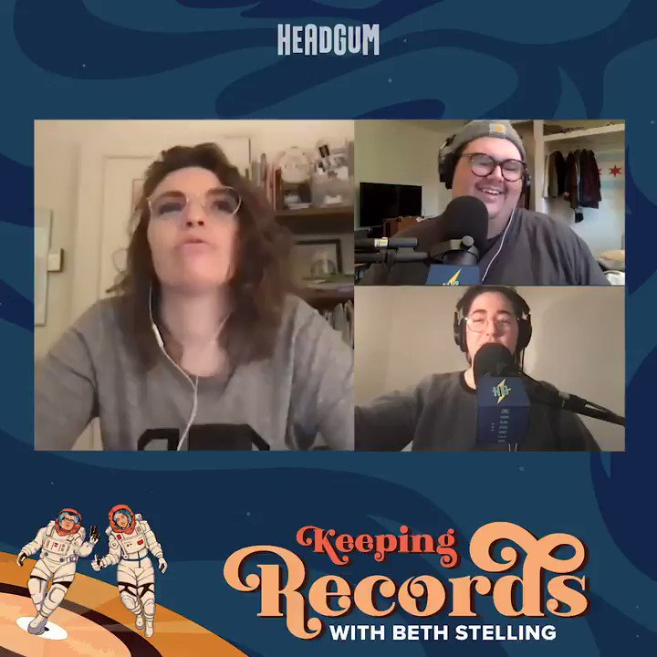 Have you listened to last weeks @keepingrecords? @BethStelling joined @calebsaysthings & @ShelbyWolstein to discuss her plans for her Golden Record and wait for her Postmates! 🎧 apple.co/3rbP2td 🎧 spoti.fi/37tPXgv