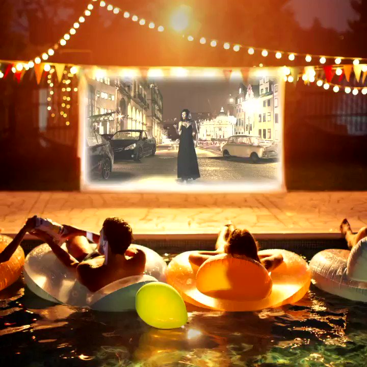 A streaming movie night so fun, it'll make the neighbors with cable #internet jealous. #ATTFiber 😎  #GoodVibes #MovieNight #WiFi  Learn more at .