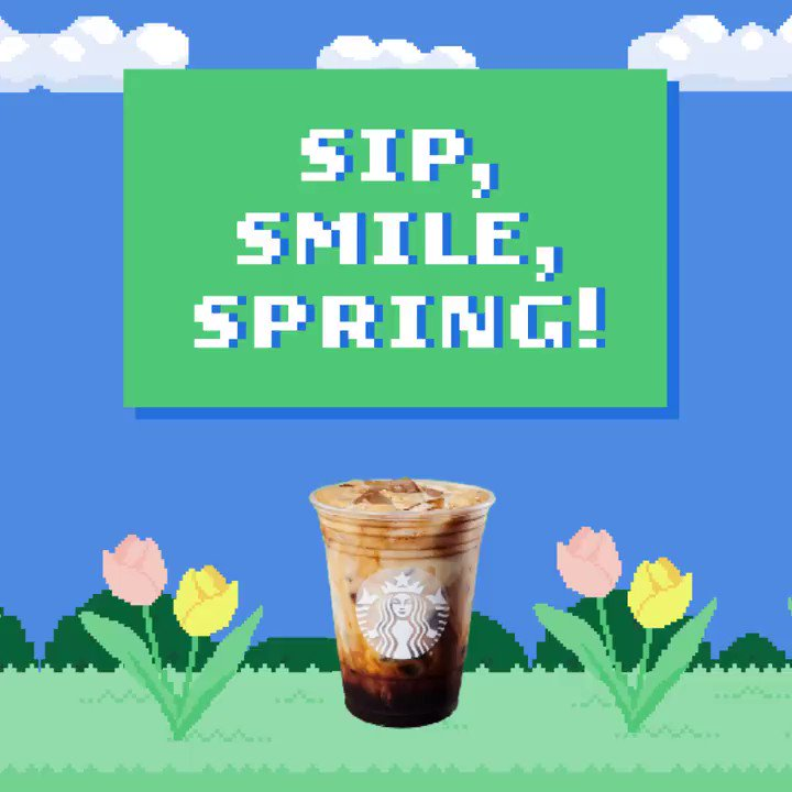 Spring is here! Jump into the season with our new game, Sip, Smile, Spring—powered by your smile! Check it out on Instagram.