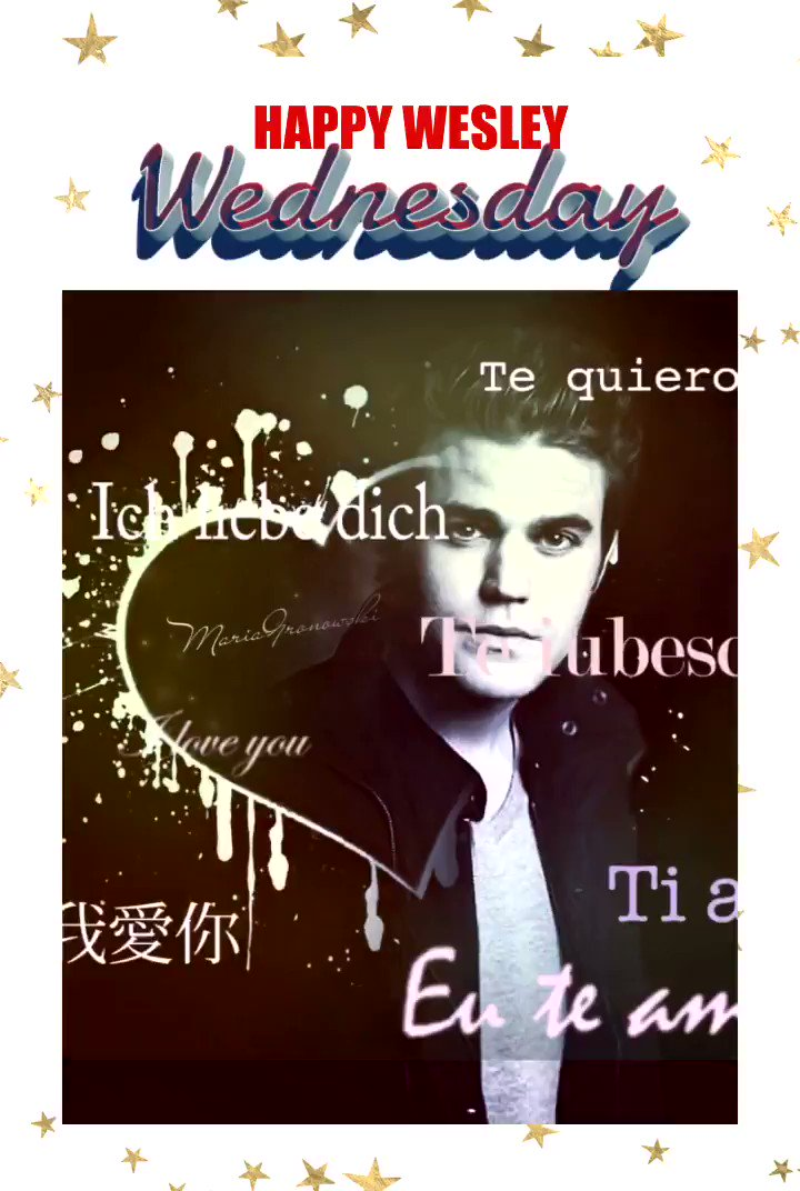 Hello 👋 my beautiful friends good morning my #PDubfam #SPNFamily & #WalkerFamily wishing y'all a Wonderful #wesleywednesday with #PaulWesley have an amazing day everyone don't forget to smile and Be Awesome 👏 #myedit feel the love in different languages #Wednesdayvibes 👇