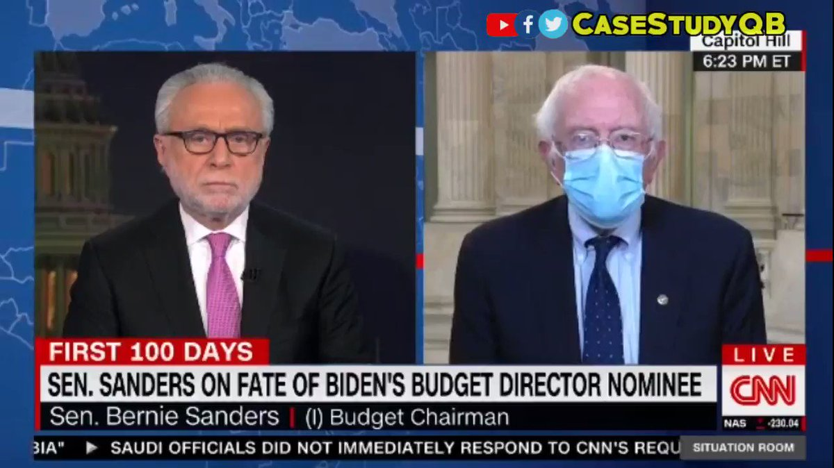 MSNBC - 3/2/2021 - #BernieSanders interview on #COVID19 relief and $15 minimum wage  3/3