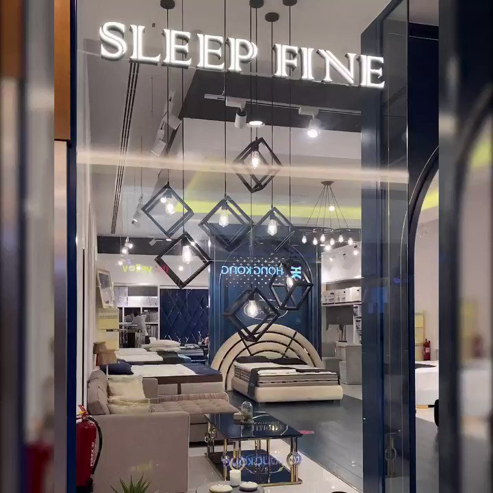 All you need is an extra comfy bed for a Good Night Sleep – a must to heal our mind and body #Sleepfine #DalmaMall #LoveMySleep #fyp #explore #InAbuDhabi