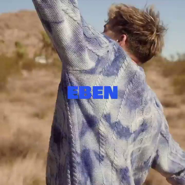 .@EbenOfficial premieres his new single 'Ghost Town' this week - and it's a bop 🎶 Stream it on your favourite digital music platform now and feel them good vibes.
