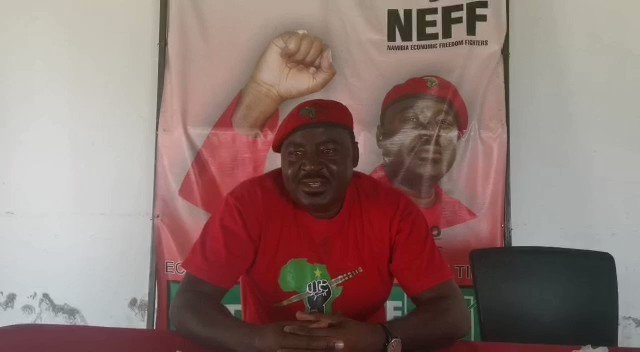 Namibia Economic Freedom Fighters sending well wishes to the President. #HappyBirthdayCIC https://t.co/kNxDv9fOz7