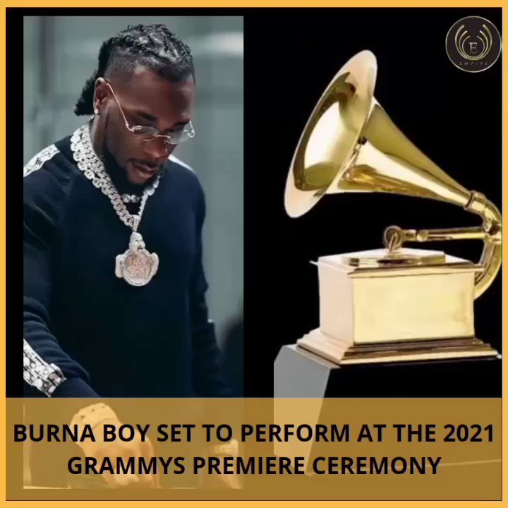 #CokeMealChallenge #wednesdaythought #partyinjcsroom #XiaoZhan   Nigerian singer, Damini Ebunoluwa Ogulu professionally known as Burna Boy will perform at the 2021 Grammy pre-show which will be live-streamed on  on March 14, Pitchfork reports . . . #burna