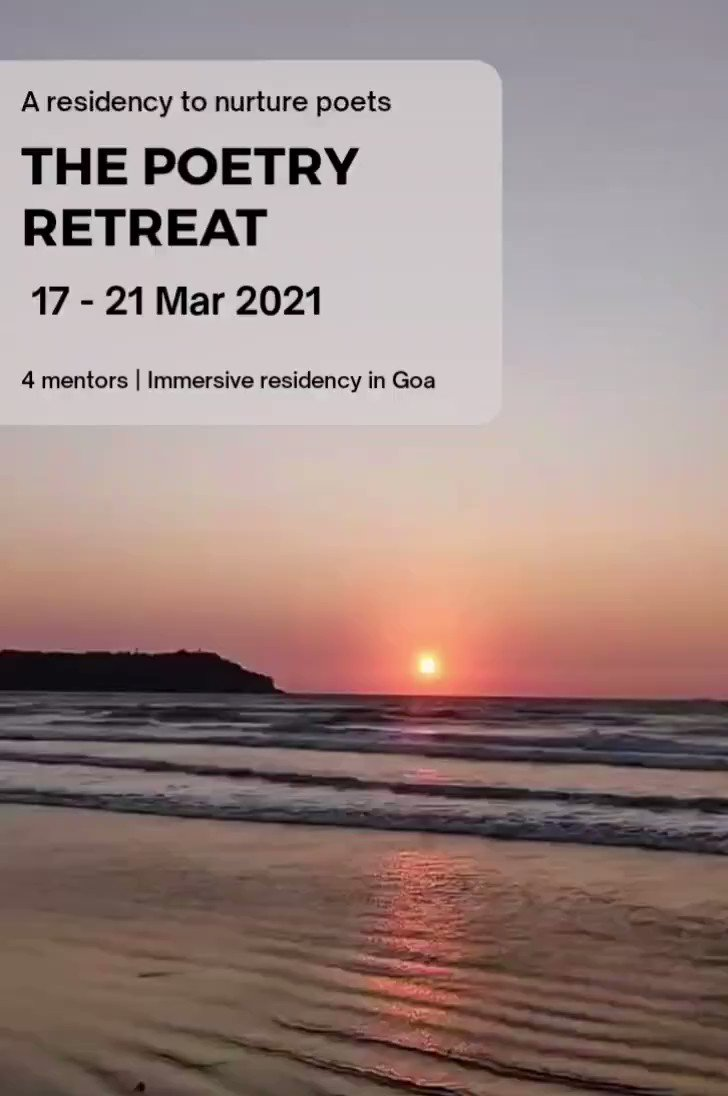 #beautiful 5 days, 4mentors, 8 poets, good food, nature and sea and many poems to  poems waiting to be found. Come join us at @the poetryretreat this March from 17th to 21st.@thepoetryretreat @rochelledsilvapoet