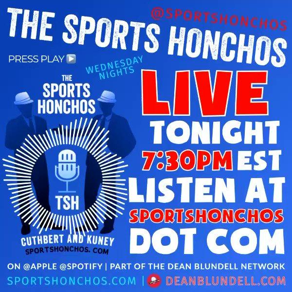 🔴⚪️ LIVE Tonight at 7:30pm EST. Listen at   Not your average #Sports Showgram!  🙋🏻♂️Follow the guys @BitterandRage & @cuthbertlive  Subscribe @iTunes @Spotify & now @DBlundellNet!  #SportsNews #SportsBiz#NBA #NHL #sports #MLB #NCAA #NFL #NASCAR