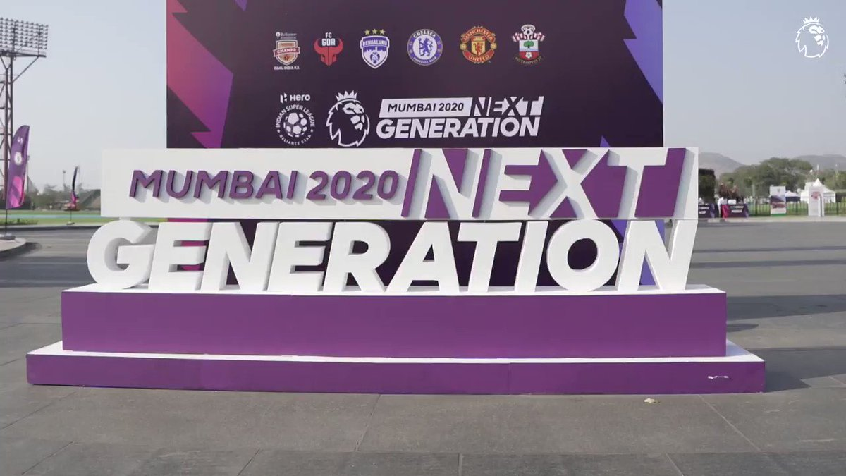 'For the Premier League to be here in India and for it to be involved with the @IndSuperLeague, will only benefit in growing football in the country' @alanshearer 🗣️  #NextGenMumbai #Throwback