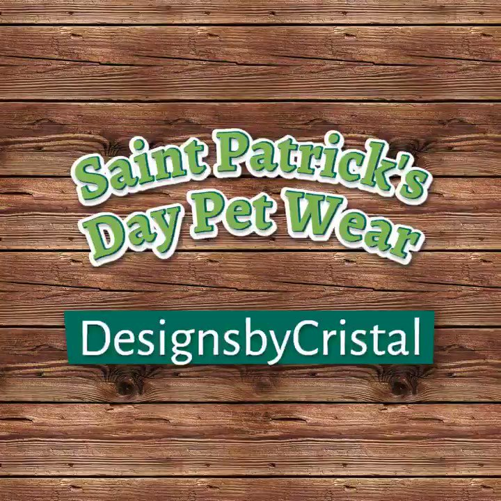 #Saintpatricksday #dog wear #stpattysday #dogsoftwitter #dogs #etsypreneur #epiconetsy #womaninbiz