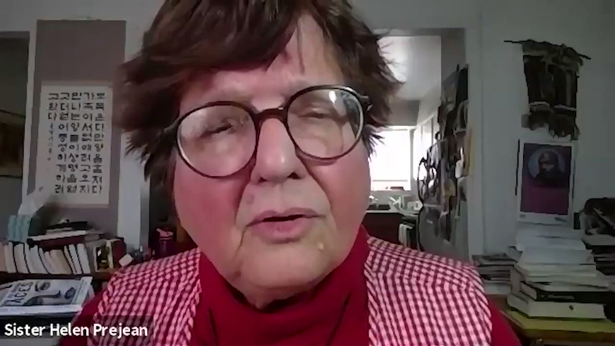 Sister @HelenPrejean on fighting despair and finding hope, from our most recent Nation Conversation. Check out all our upcoming conversations and join us! bit.ly/303DFHe