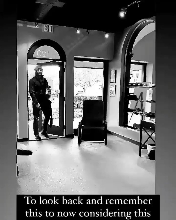 Also from @ Lolaballi IG story. He is such a cute guy 😍😍😍 #jaredpadalecki #Walker #Supernatural #spnfamily #walkerfamily