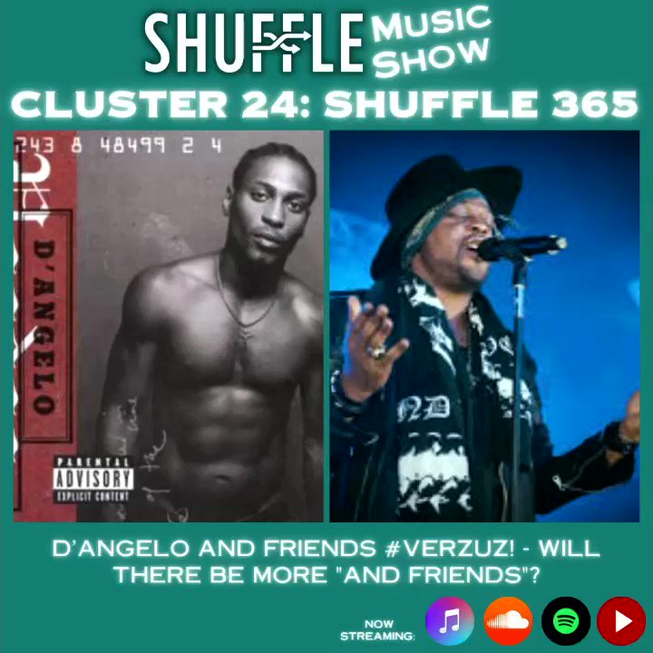 🗣: Shuffle Krewe  Do you wanna see more #Verzuz and Friends or do you want the original formula? Weigh in below!  Cluster 24: Shuffle 365 out now. 🎤