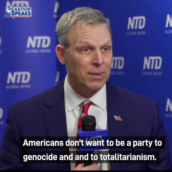 """Americans don't want to be a party to genocide and to totalitarianism, but yet the top of our federal government is, and it is disgraceful at a minimum."" @RepScottPerry #CPAC2021 WATCH: youtu.be/l__RV9X2UhY"