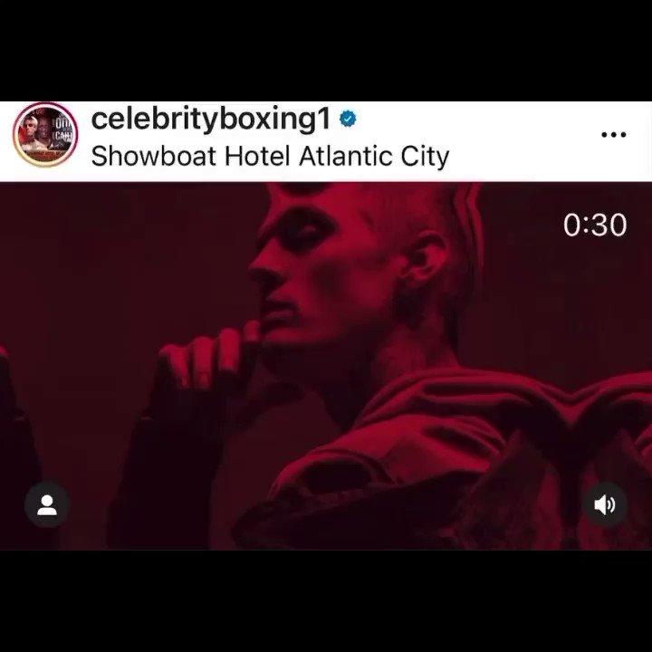 June 12 @instagram check @celebrityboxing1 on IG 👇👇👇👇👇👇👇 👉@aaroncarter👈          ⭐️ VS  ⭐️       Lamar Odem  ANYTHING CAN HAPPEN  #BOXING 🥊