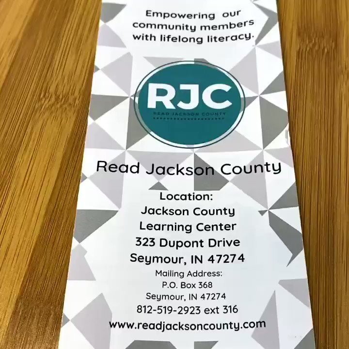 Our new brochure! Ty Dicksons Inc, Seymour IN! #literacy #nonprofitorganization https://t.co/TvQeAP7KLR