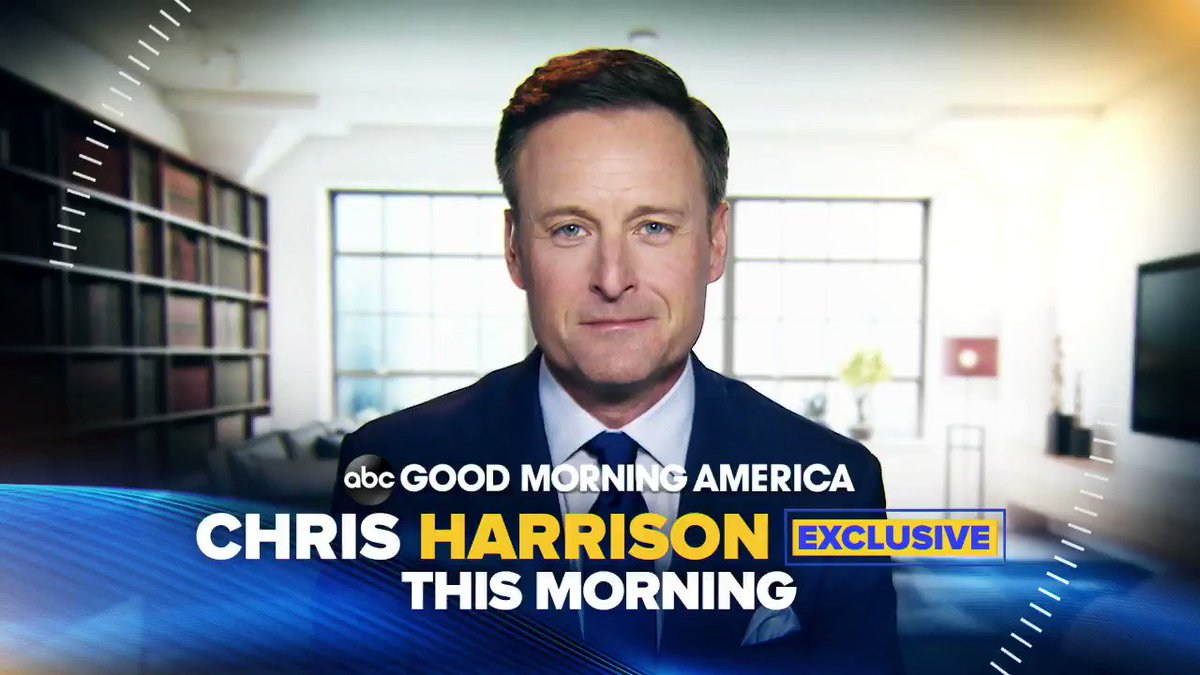 NEW: CHRIS HARRISON EXCLUSIVE: This morning on GMA, Chris Harrison in his first interview anywhere since stepping away from #TheBachelor. This morning on ABC's Good Morning America at 7 AM.