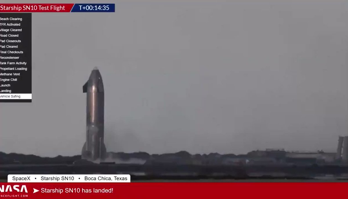 BREAKING *EXPLOSION* - SpaceX Starship Prototype SN10 exploded after landing