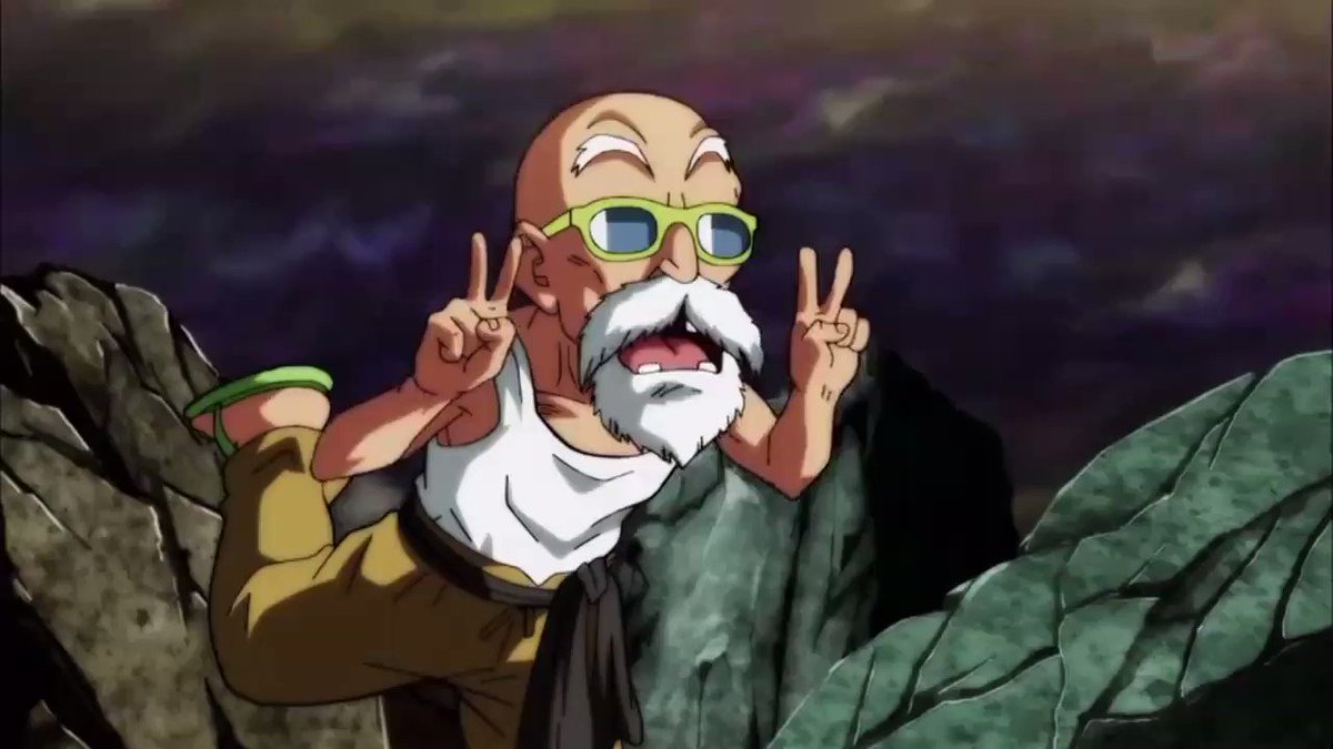 "Here's a Sneak Peek at The Next #DragonBallSuper   ""A Valiant Fight! Master Roshi's Blaze of Glory!!""  Saturday Night @ Midnight.  Only #Toonami, On AdultSwim"