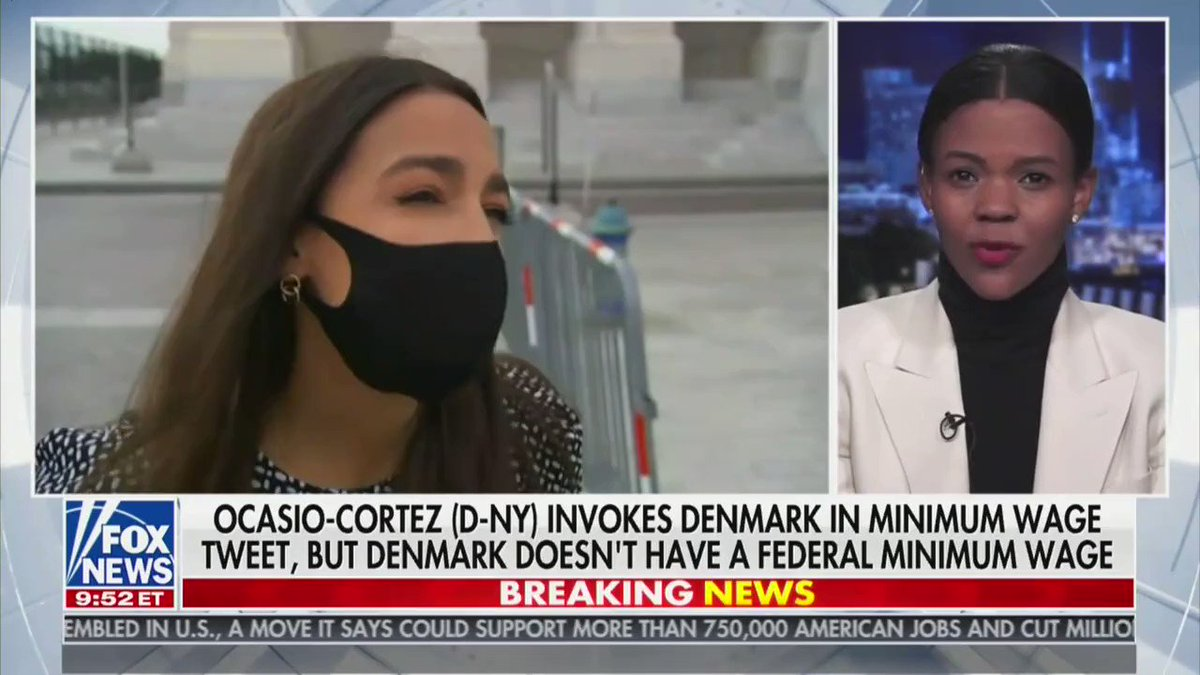 ".@RealCandaceO with an Econ 101 lesson for @AOC  ""It's so important that we communicate these ideas to young people because that's exactly who AOC is preying upon, who Democrats prey upon ... people who are naive, who want to believe in this utopian society that can never exist."""