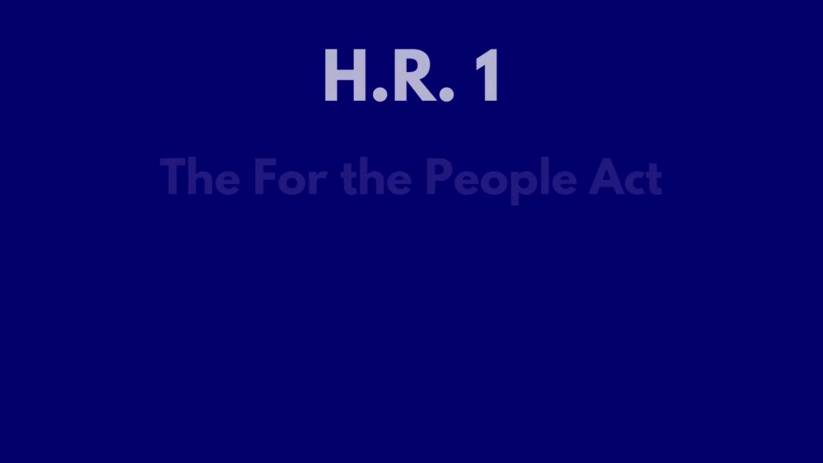 BREAKING: House passes #ForThePeople Act to enact election reform.  We need to make it easier—not harder—for Americans to participate in the democratic process. #HR1 will expand voting access & end partisan gerrymandering. Proud to support this package & strengthen our democracy.