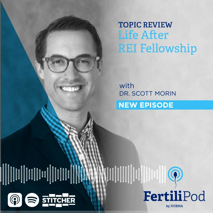 New #podcast episode! @scottjmorinMD of @thermanetwork Northern California on what life is like after #REIfellowship!  Apple  Spotify  Web   #FertiliPod #Science #Fertility #attendinglife #fellowship