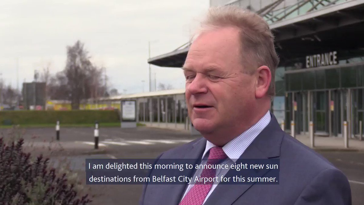 Image for the Tweet beginning: We caught up with .@BELFASTCITY_AIR