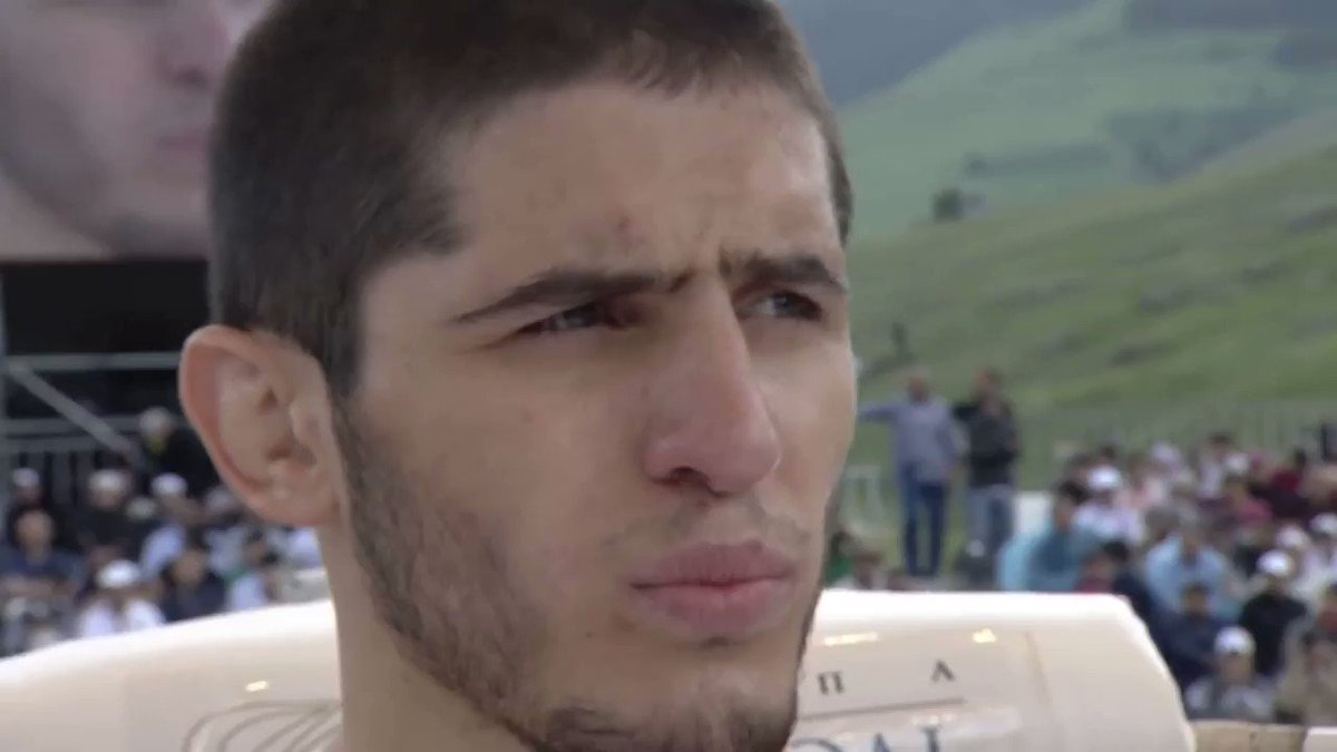 Young Islam Makhachev fights in the middle of the Caucaus Mountains of Ingushetia https://t.co/KECtwRDaT5